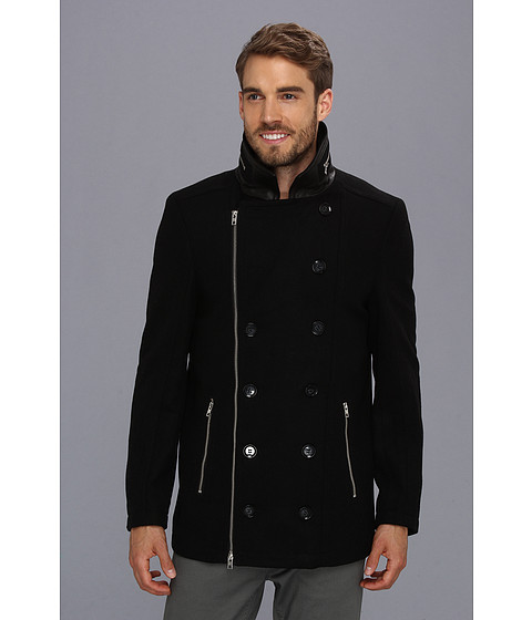 7 Diamonds - Big In Japan Coat (Black) Men's Coat