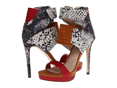 MIA - MLE - Rocco (Red Multi Snake) High Heels