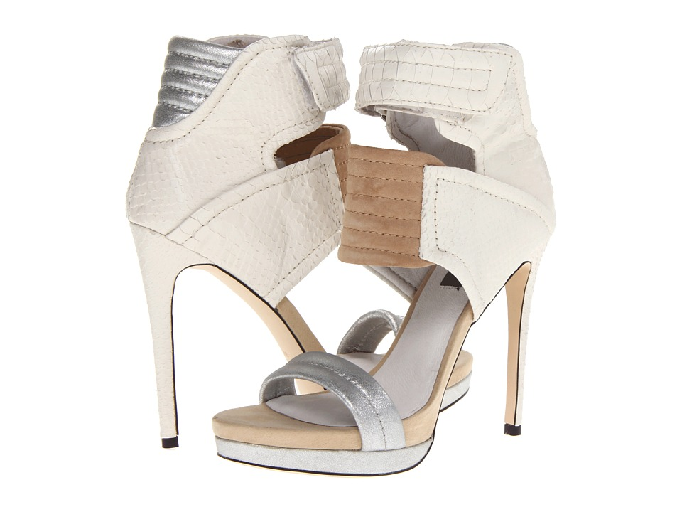 MIA - MLE - Rocco (Silver Multi Snake) High Heels