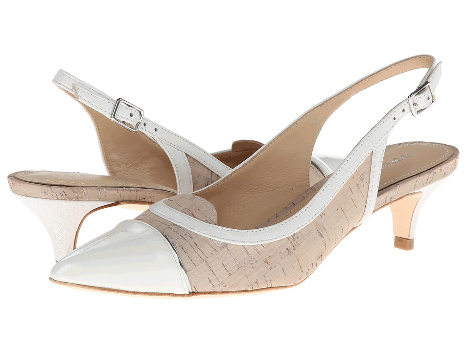 Donald J Pliner - Flora (Foam/White Pearlized Pat) High Heels