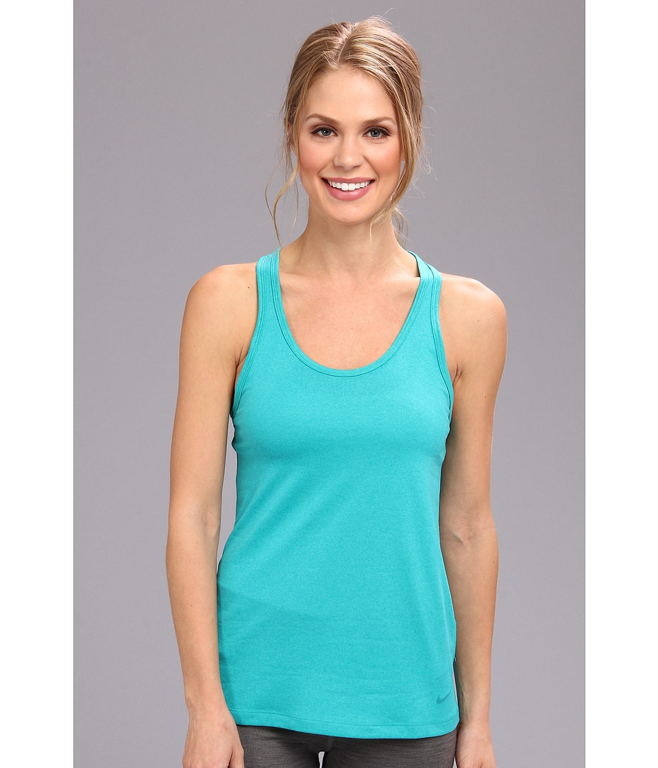 Nike - Legend Tank (Turbo Green/Turbo Green) Women's Sleeveless