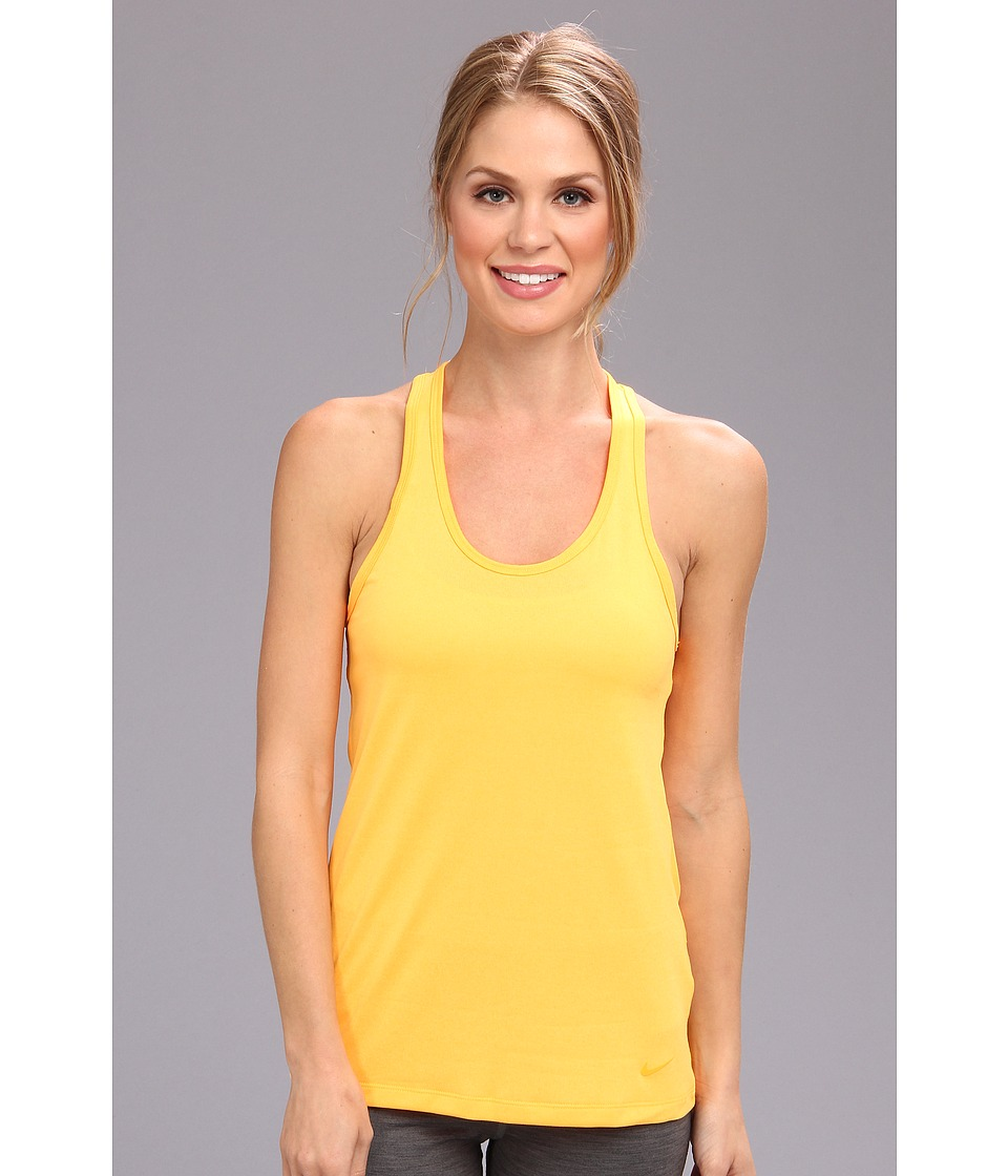 Nike - Legend Tank (Atomic Mango/Atomic Mango) Women's Sleeveless