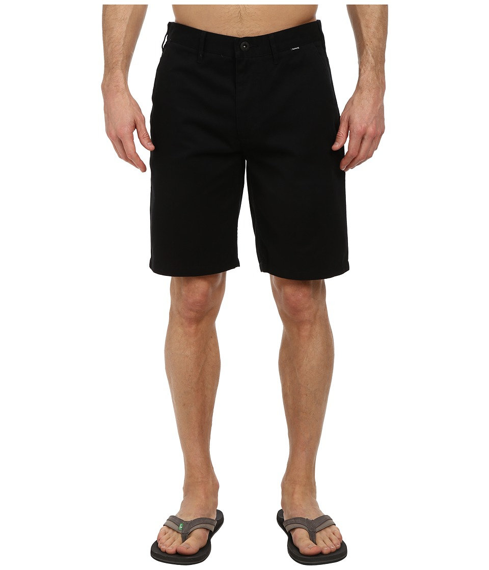 Hurley - One Only Chino Walkshort (Black) Men's Shorts