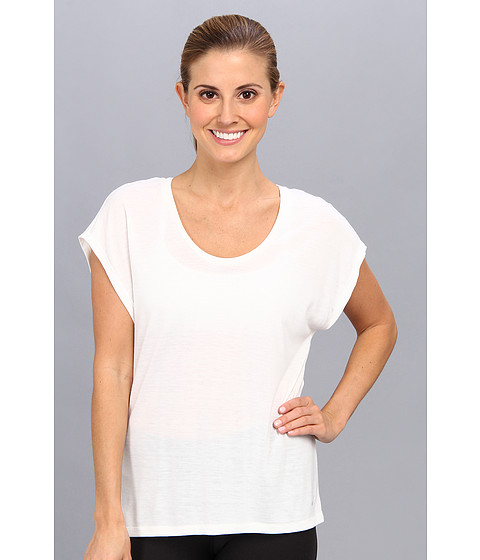 Nike - Club Boxy Tee (White/White) Women