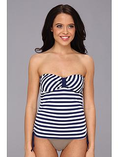 SALE! $31.99 - Save $36 on Splendid Miami Stripe Bandini (Navy) Apparel - 52.96% OFF $68.00