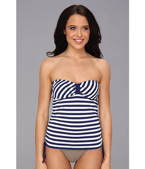 Splendid - Miami Stripe Bandini (Navy) Women