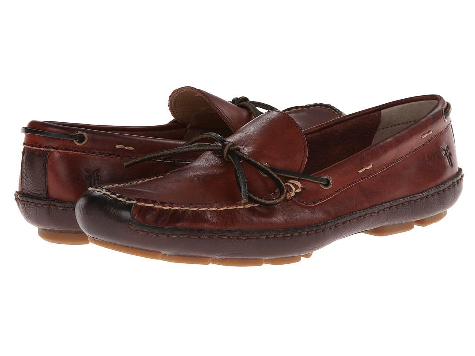 Frye - Harbor Tie (Black Cherry Wyoming) Men's Slip on Shoes