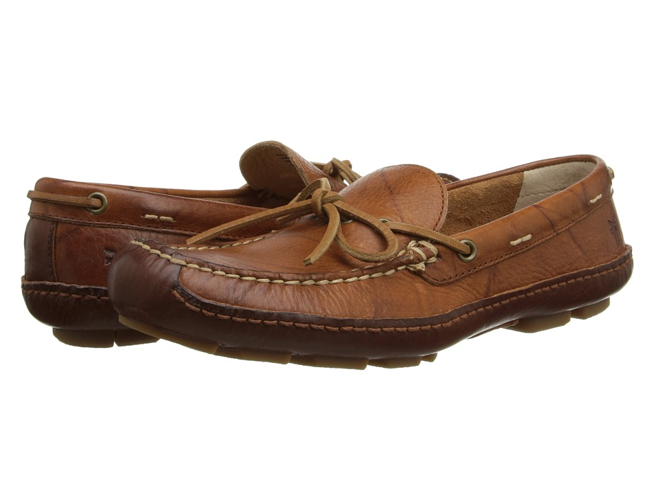 Frye - Harbor Tie (Saddle Wyoming) Men's Slip on Shoes