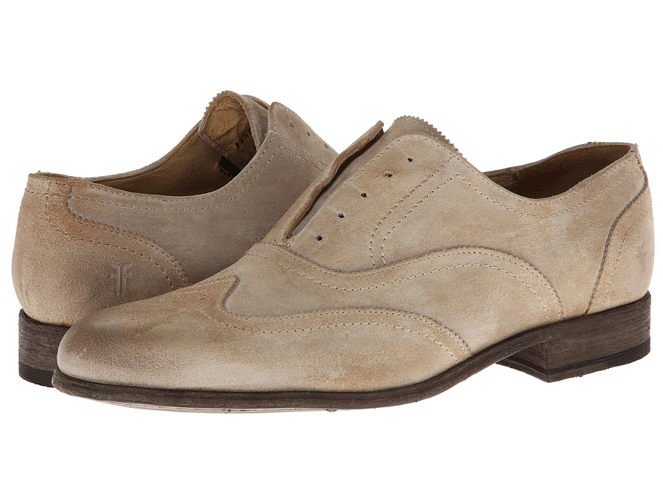 Frye Harvey Wingtip (Sand Suede) Men
