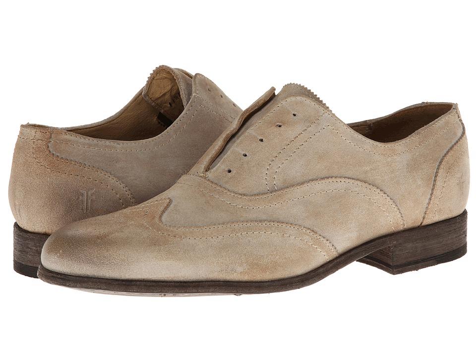 Frye - Harvey Wingtip (Sand Suede) Men's Lace Up Wing Tip Shoes