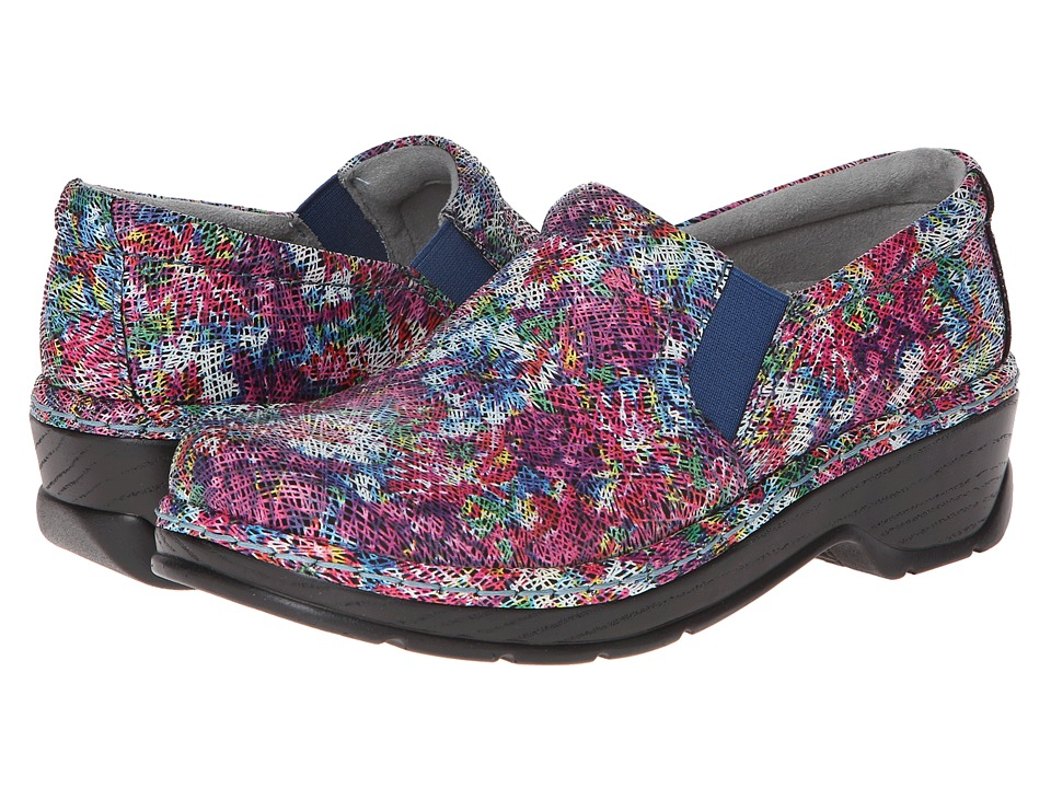 Klogs Footwear - Naples (Multi Crayon) Women's Clog Shoes