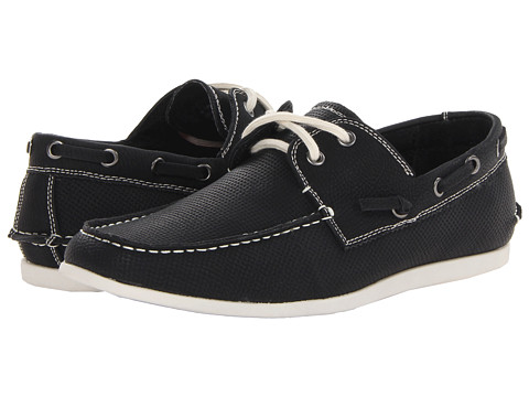 Steve Madden - Gameon (Black Nubuck) Men's Slip on Shoes