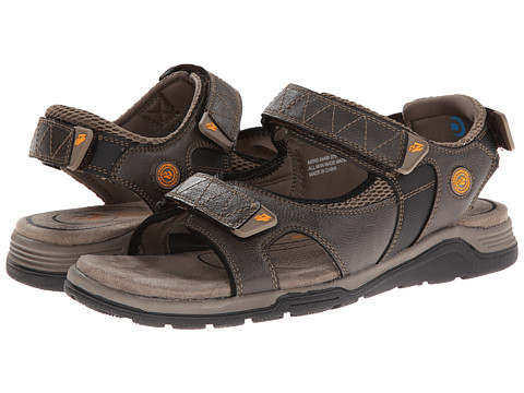 Nunn Bush - Mirror Lake (Stone) Men's Sandals