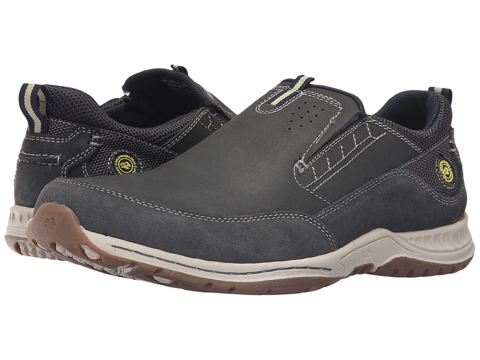 Nunn Bush - Esker Slip-On Casual (Navy) Men's Shoes