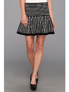 SALE! $56.99 - Save $81 on Juicy Couture Flounce Skirt w Stripes (Black Angel Combo) Apparel - 58.70% OFF $138.00