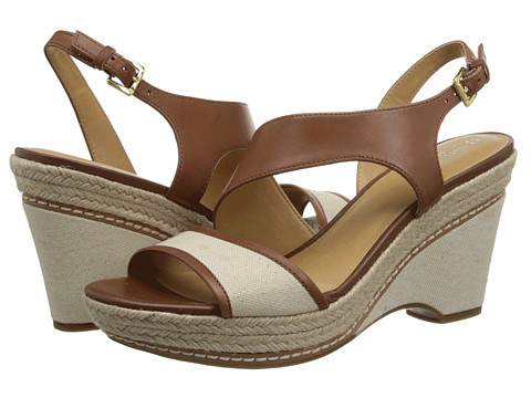 Naturalizer - Lissa (Banana Brd Leather/Natural Canvas) Women