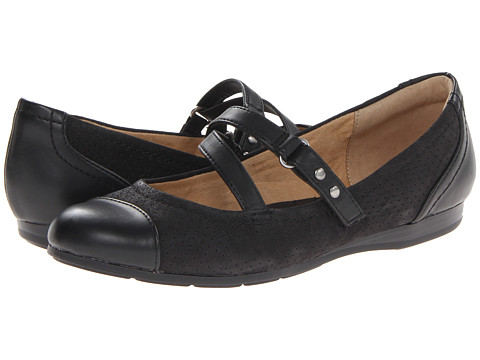 Naturalizer - Coriander (Black Leather/Nubuck) Women