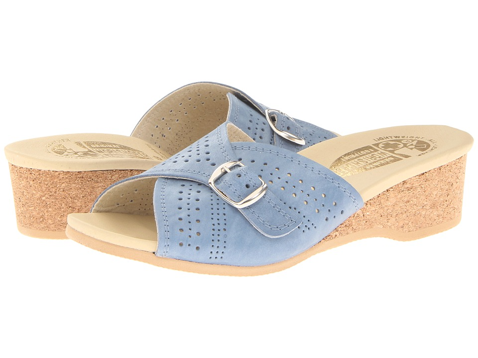 Worishofer - 251 (Sea Blue) Women's Sandals