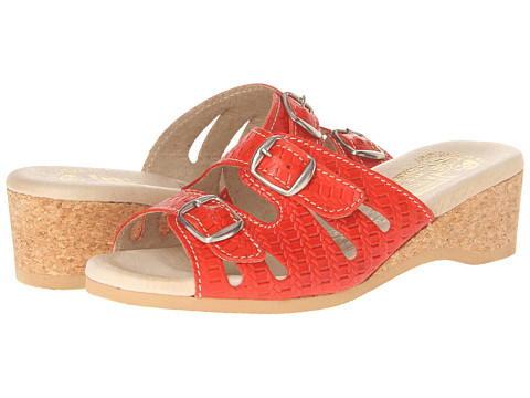 Worishofer - 282 (Tangerine) Women's Sandals