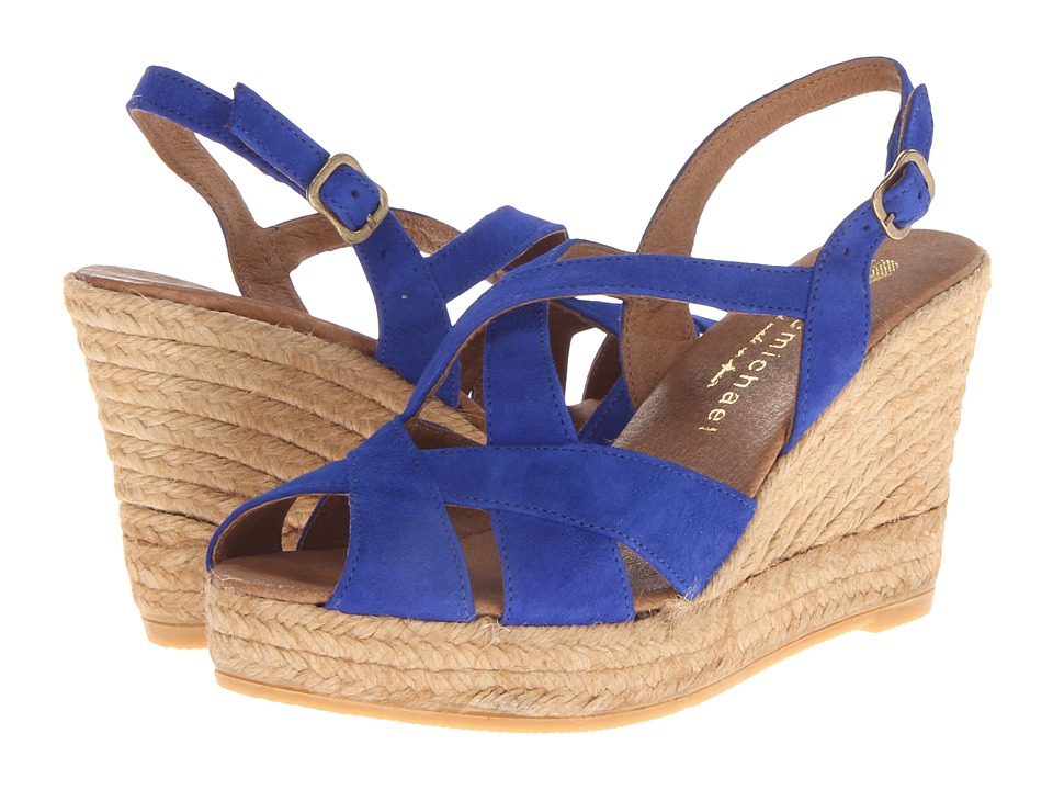 Eric Michael - Agua (Blue) Women's Wedge Shoes