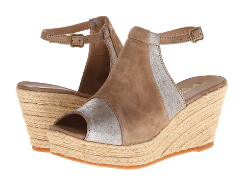Eric Michael - Fergie (Natural) Women's Wedge Shoes