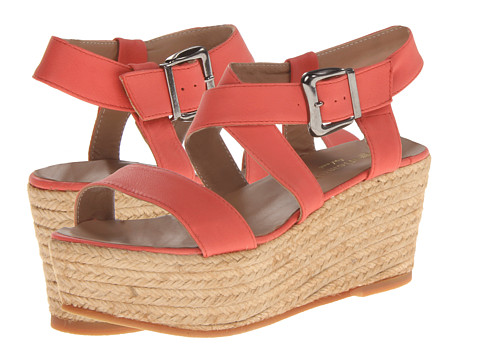Eric Michael - Sarah (Coral) Women's Wedge Shoes