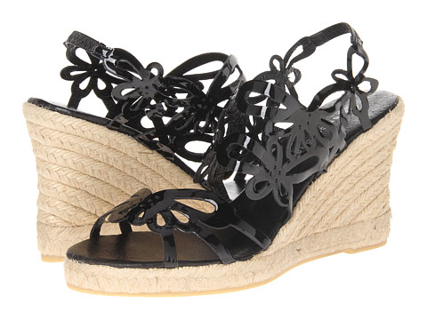 Eric Michael - Jillian (Black Patent) Women's Wedge Shoes