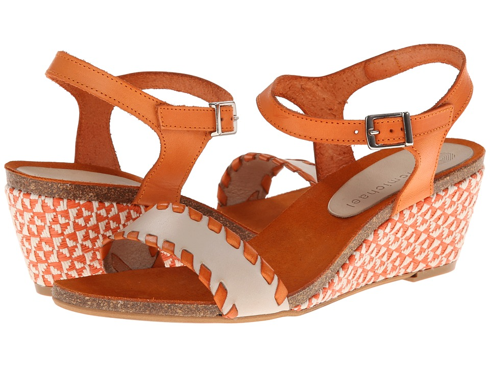 Eric Michael - Marlo (Orange) Women's Wedge Shoes