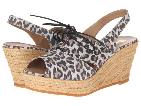 Eric Michael - Delia (Beige Leopard) Women's Wedge Shoes
