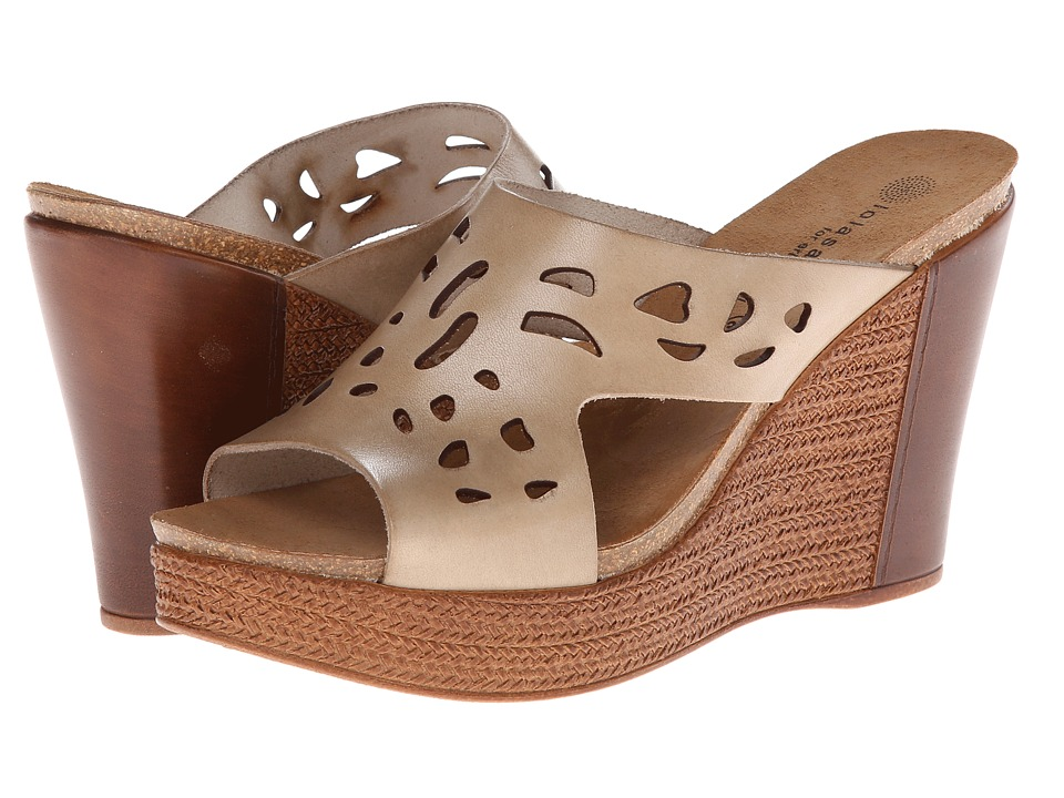Eric Michael - Eden (Natural) Women's Wedge Shoes