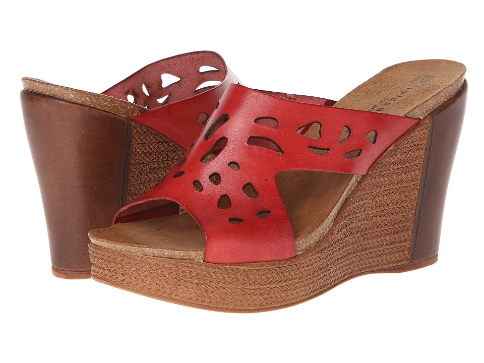 Eric Michael - Eden (Red) Women's Wedge Shoes