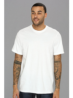 SALE! $14.99 - Save $5 on Hurley Staple Premium S S Crew (White) Apparel - 25.05% OFF $20.00