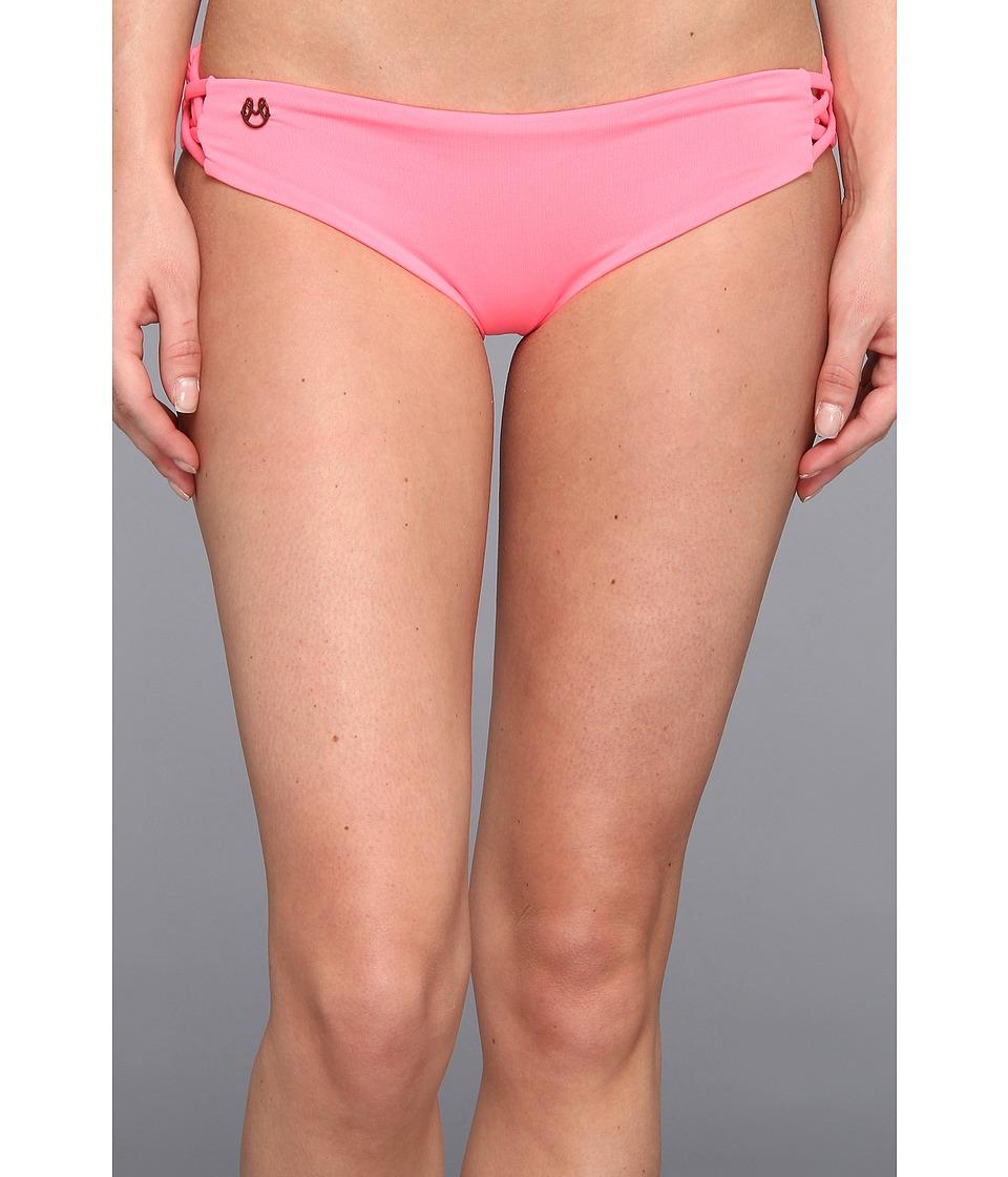 Maaji - Candy Pirate Signature Cut Bottom (Pink) Women's Swimwear