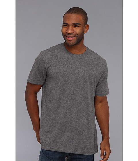 Hurley - Staple Dri-FIT S/S Tee (Heather Graphite) Men's Short Sleeve Pullover