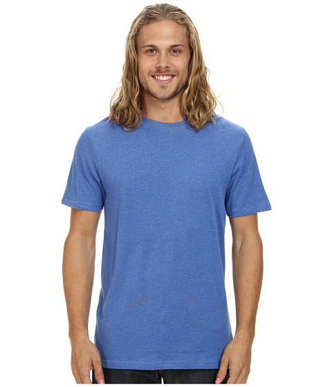 Hurley - Staple Dri-FIT S/S Tee (Heather Sports Blue) Men's Short Sleeve Pullover