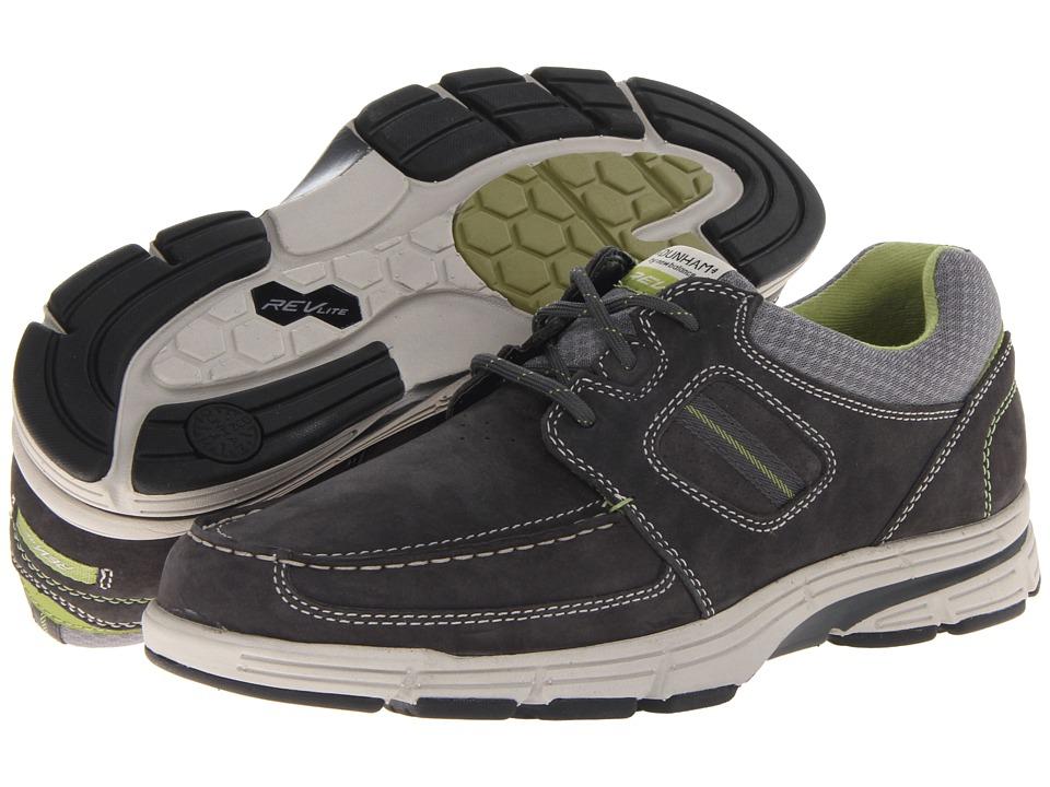 Dunham - REVsly 3 Eye Boat (Navy) Men's Shoes
