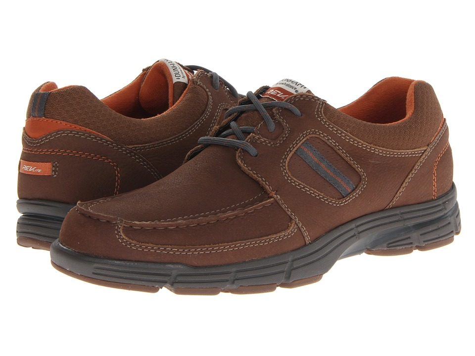 Dunham - REVsly 3 Eye Boat (Brown) Men's Shoes
