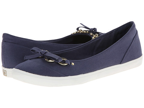 Naturalizer - Client (Navy Canvas) Women's Flat Shoes