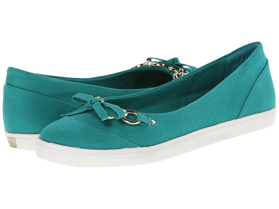 Naturalizer - Client (Turquoise Time Canvas) Women's Flat Shoes