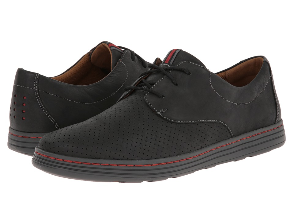 Dunham - Camden (Slate Black) Men's Plain Toe Shoes