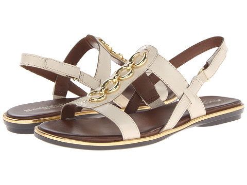Naturalizer - Harrison (Pale Ivory Leather) Women's Sandals