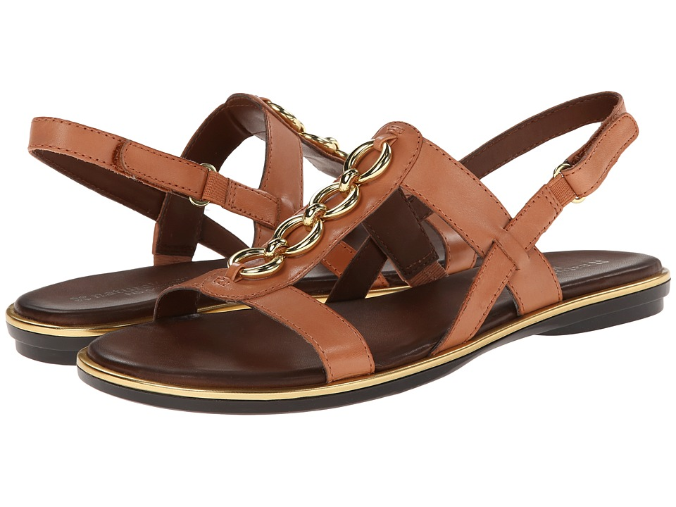 Naturalizer - Harrison (Sea Coral Leather) Women's Sandals
