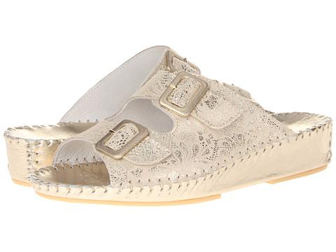 La Plume - Jen (Champagne) Women's Sandals