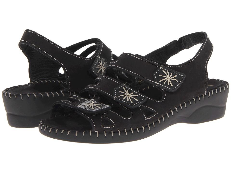 La Plume - Lyla (Black) Women's Sandals