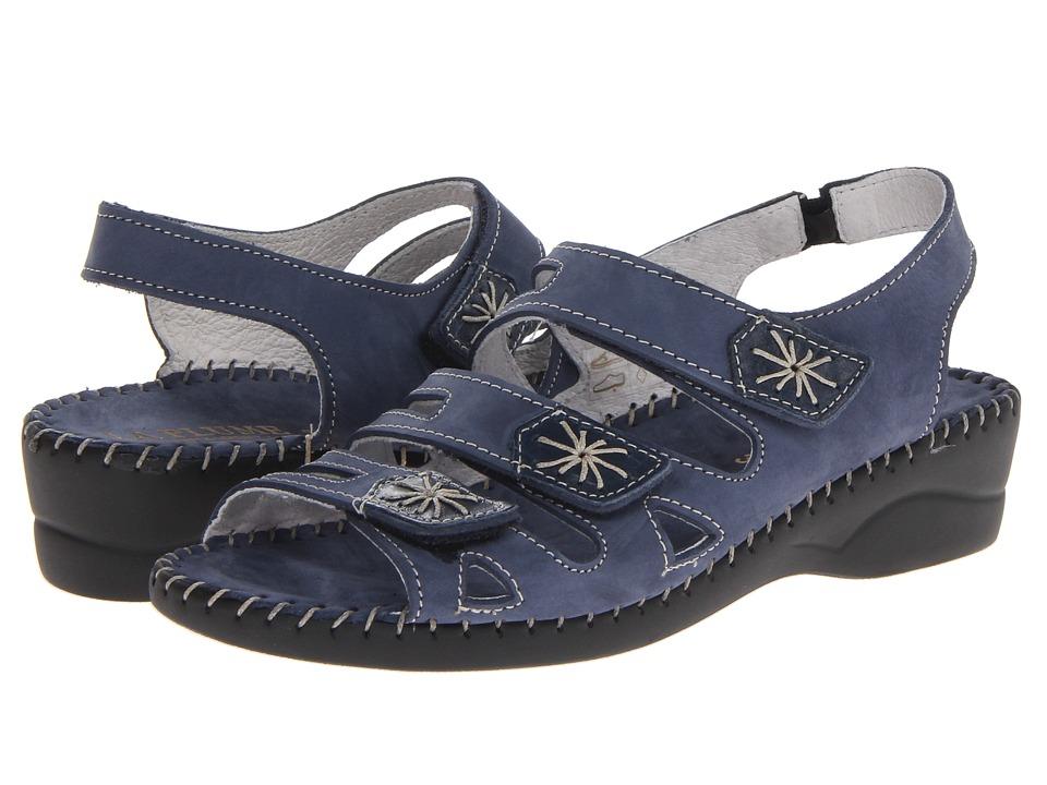 La Plume - Lyla (Blue) Women's Sandals