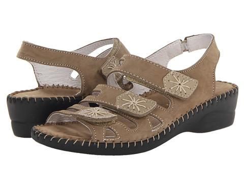 La Plume - Lyla (Beige) Women's Sandals