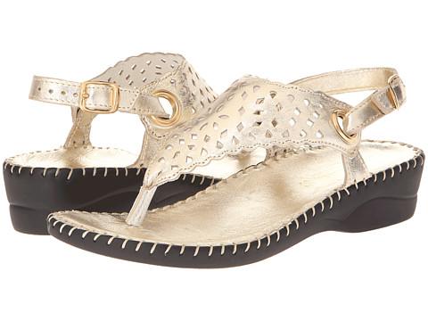 La Plume - Tempe (Gold) Women's Sandals