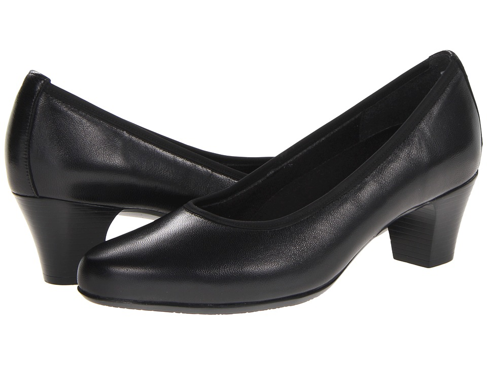 Munro - Emma (Black Kid) Women's 1-2 inch heel Shoes