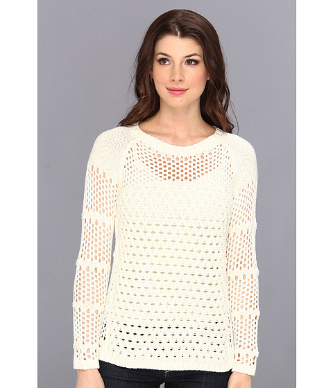 Calvin Klein - L/S Novelty Stitch Sweater (Winter) Women's Sweater
