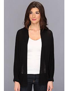 SALE! $54.99 - Save $45 on Calvin Klein S S Burnout Cardigan (Black) Apparel - 44.73% OFF $99.50